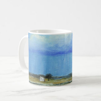 A Perfect Storm Abstract Art Landscape Painting Coffee Mug