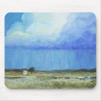 A Perfect Storm Abstract Art Landscape Painting Mouse Pad