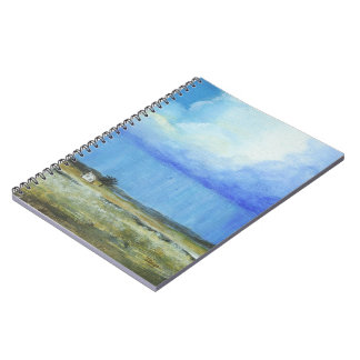 A Perfect Storm Abstract Art Landscape Painting Notebook