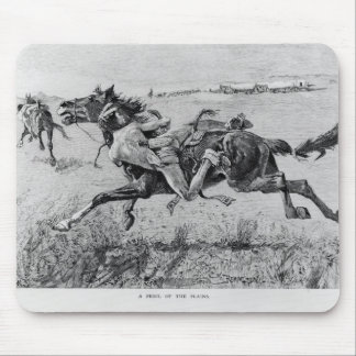 A Peril of the Plains Mouse Pad