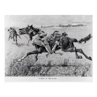 A Peril of the Plains Postcard