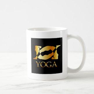 A person doing gymnastics coffee mug