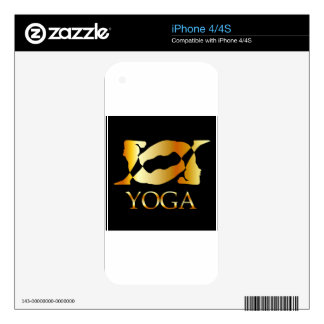 A person doing gymnastics iPhone 4 decals