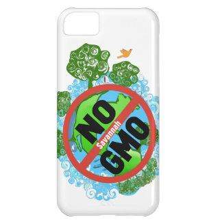 A Personalized NO GMO iphone 5 Case For iPhone 5C