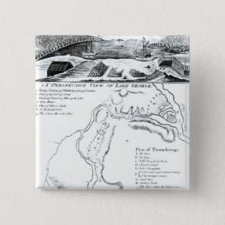 A Perspective View of Lake George Pinback Button