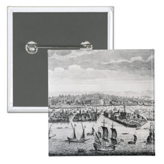 A Perspective View of the City of Venice Button