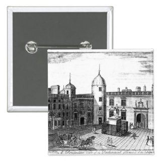 A Perspective View of the Parliament House Pinback Button