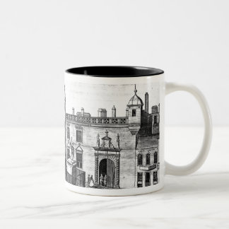 A Perspective View of the Parliament House Two-Tone Coffee Mug