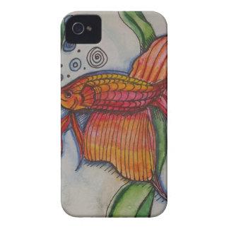 A pescado a pescado funda para iPhone 4 de Case-Mate