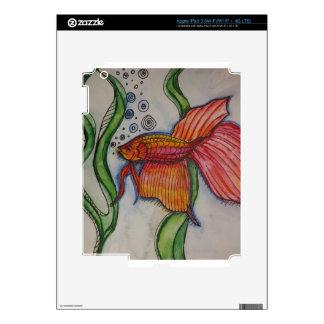 A pescado a pescado iPad 3 skin