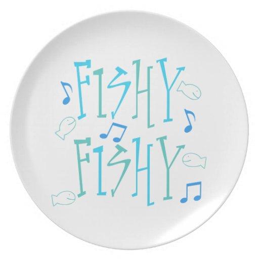A pescado a pescado platos de comidas