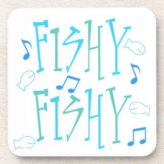 A pescado a pescado posavasos de bebidas