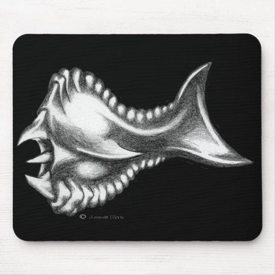 A pescado… apenas un poco mouse pad