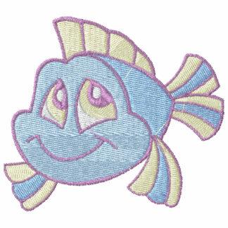 A pescado en colores pastel lindo