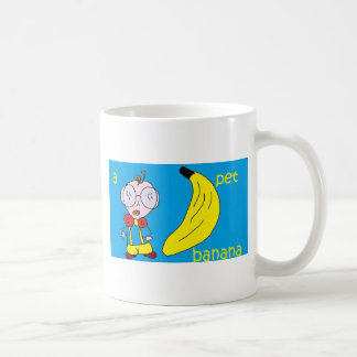 a pet banana coffee mugs