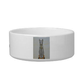 A pet bowl fit for royalty