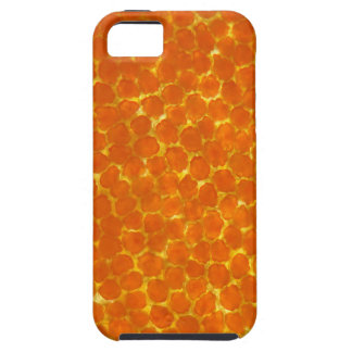 A petal of a tagetes flower under the microscope iPhone 5 case