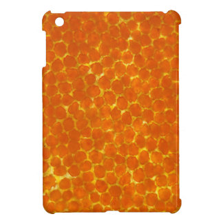 A petal of a tagetes flower under the microscope iPad mini cover