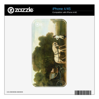 A Phaeton with a Pair of Cream Ponies in the Charg Skin For iPhone 4S