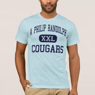 A Philip Randolph - Cougars - High - New York T-Shirt