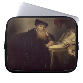 A Philosopher, 1635 (oil on panel) Computer Sleeves