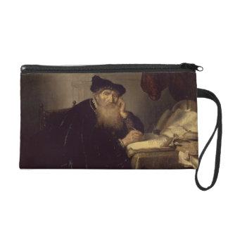 A Philosopher, 1635 (oil on panel) Wristlet Purse