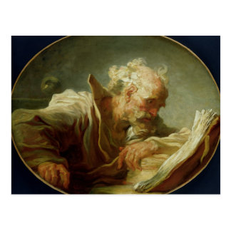 A Philosopher, c.1764 Postcard