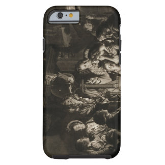 A Philosopher Shewing an Experiment on the Air Pum iPhone 6 Case