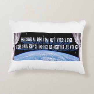 A Philosophical, Poetic Pillow