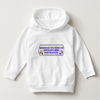 A Philosophical, Poetic Toddler Hoodie