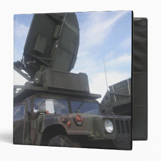 A Phoenix Tactical Satellite Terminal Vinyl Binder