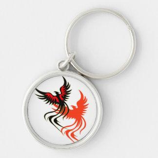 A Phoenix's Shadow Keychain