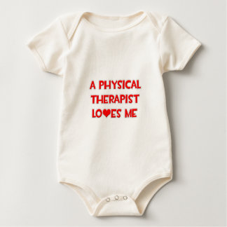 A Physical Therapist Loves Me Baby Bodysuit