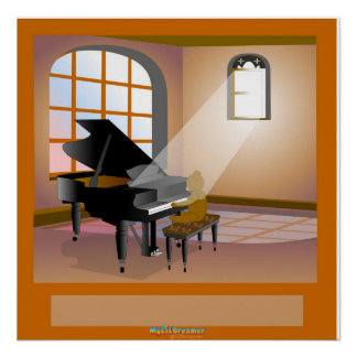 A Pianist's Dream Poster