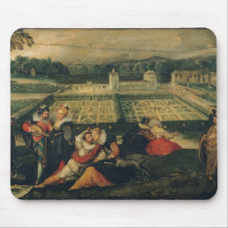 A Picnic in a Park Mouse Pad