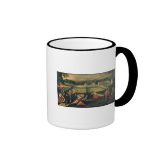 A Picnic in a Park Ringer Coffee Mug