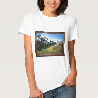 A picnic spot with a beautiful view tshirt