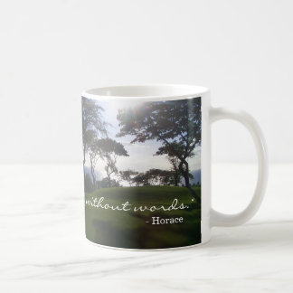 """A picture is a poem without words"" Coffee Mug"