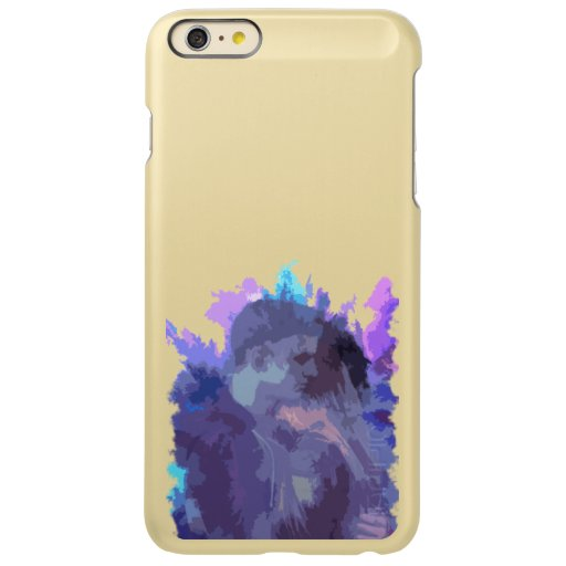 A picture of a girl and a boy hugging incipio feather shine iPhone 6 plus case