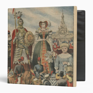 A picturesque and traditional feast binder