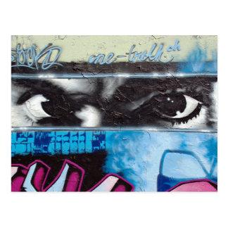 a piece of Berlin Wall Post Card