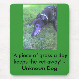 A piece of grass a day...... mouse pad