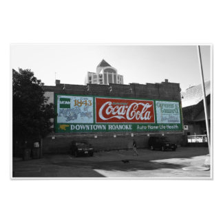A piece of history in Roanoke, VA Photo Print