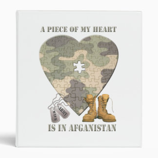 A Piece of My Heart Army Wife Photo Album Binder