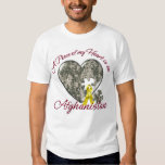 A Piece of My heart is in Afghanistan T-shirts