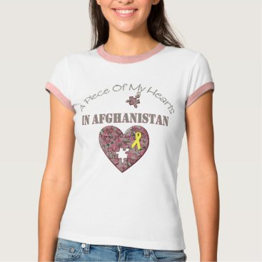 A Piece of My Hearts In Afghanistan T-Shirt