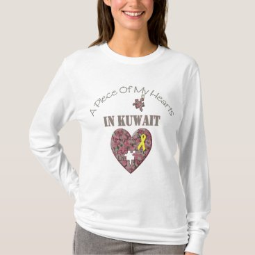 A Piece of My Hearts In Kuwait T-Shirt