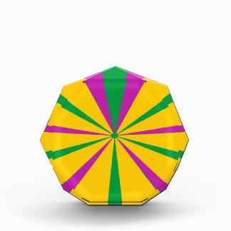 A Piece of the Mardi Gras Pie Acrylic Award