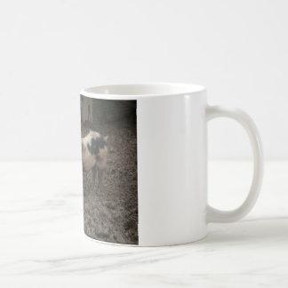 A pig in muck coffee mug