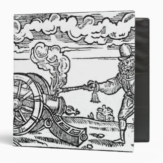 A Pikeman Lighting a Cannon Binder